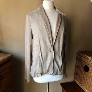 NWT Nordstrom Caslon Tan Soft Jacket Blazer